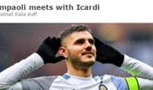 桑保利告知伊卡尔迪:阿圭罗受伤你才能去世界杯