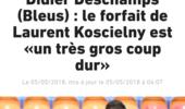 法国足协确认:科斯切尔尼因伤无缘世界杯