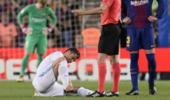 马卡:C罗右脚脚踝受伤 不妨碍出战欧冠决赛