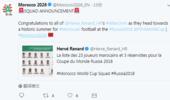 摩洛哥公布世界杯28人名单:尤文铁卫领衔