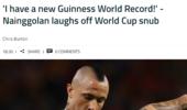 再次无缘世界杯 纳英戈兰自嘲:我创吉尼斯纪录了