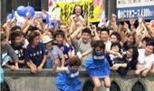 疯了吧?日本人想出的庆祝方式 连命都不要了(Gif)
