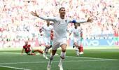 C罗头槌破门!世界杯4个进球4种方式 霸道总裁已热身完毕