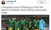 塞内加尔球员遭种族歧视 英国名人被迫道歉