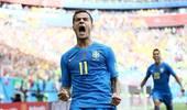 库蒂尼奥2场2球扛着巴西前进 他已成球队的胜负晴雨表