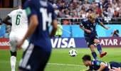 精彩!日本两度落后两度扳平比分 双方球迷装扮亮了