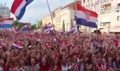 曼朱基奇回乡4万人上街欢迎 克罗地亚人都来了