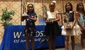 8岁女儿成世界冠军,全程英文发表感言 刘国梁乐开花