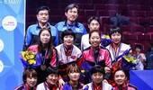 韩朝联队获韩国乒乓球赛混双冠军 将共赴亚运会