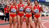 钻石联赛中国女子4X100接力摘银 男队交接失误获第5