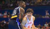 中国男篮亚洲封王遇劲敌 打爆王哲林的韩国黑人将战周琦