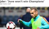 斯内德:尽管尤文有C罗 但他们还是无法夺得欧冠