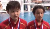 中国跳水又一位12岁神童横空出世 拿全国冠军获关注