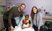 库佛斯谈为癌症儿童捐款:人们的爱让我们感到谦卑