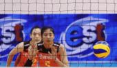 中国女排二队3-0完胜日本队夺冠 实现亚洲杯三连冠