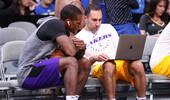 沃顿:隆多篮球智商极高,库兹马曾半夜给我发来录像求教