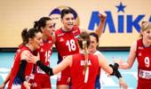 意大利爆冷1-3不敌塞尔维亚 10连胜终结获小组第二