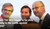 梅西为儿童癌症中心筹款3000万欧 西媒:比任何进球都精彩