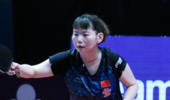 大冷!国乒20岁小将4-0吊打日本一姐,4局对手仅得14分