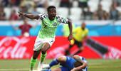 尼日利亚队前锋穆萨:同阿根廷比赛我还能进球
