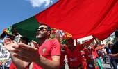 葡萄牙vs摩洛哥赛前 双方球迷临阵以待