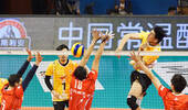 4连冠!上海男排3-0北汽取第14冠