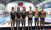 满屏荷尔蒙!中国游泳队训练备战