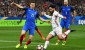 热身赛-法国0-2西班牙 席尔瓦点杀巴萨旧将破门