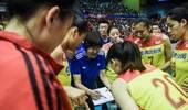 澳门赛-中国女排1-3塞尔维亚 1胜2负积分优势获亚军