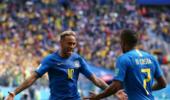 巴西队追平德国队成为世界杯历史上进球最多的球队