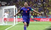 猛虎终出山!32岁法尔考打入世界杯首球助哥伦比亚取胜