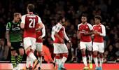 联赛杯-桑切斯助攻沃尔科特破门 阿森纳1-0晋级