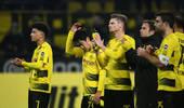 德甲-新援中框奥巴梅扬缺阵 多特主场0-0狼堡