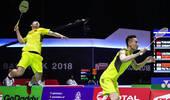 汤尤杯-国羽男队3-0中国台北 女队3-1丹麦进四强