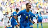 连场破门!库蒂尼奥惊艳表现助巴西打开胜利之门