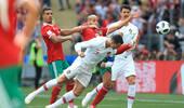 C罗头槌破门 葡萄牙1-0力克摩洛哥