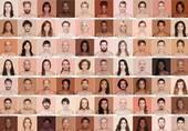 她走遍 17 个国家给 4000 人拍照:原来人类有这么多种颜色