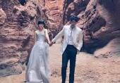 陆毅鲍蕾结婚十三年写真