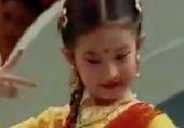 刘亦菲童年领跳印度舞