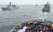 韩国国际阅舰式开幕 46国派团参加