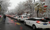 乌鲁木齐已经下暴雪了