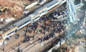 摩洛哥火车脱轨 致10死90伤