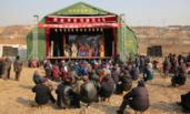 陕西:武功河滩会开集