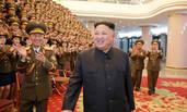 金正恩观看国家合唱团70周年纪念演出