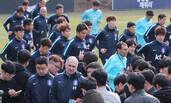 输球回国后的韩国队