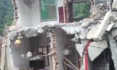 一村民卧室塌陷1人失踪 挖地15米找不到