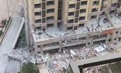 济南一小区爆炸 饭店四周被炸空