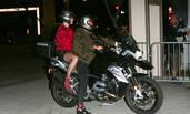 复合了?水果姐奥兰多骑摩托约会大撒狗粮