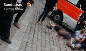 芬兰图尔库发生持刀行凶事件 多人受伤