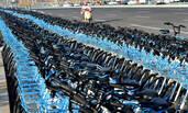 河南共享单车侵占道路3个月 绵延3公里